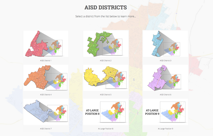 AISD Districts