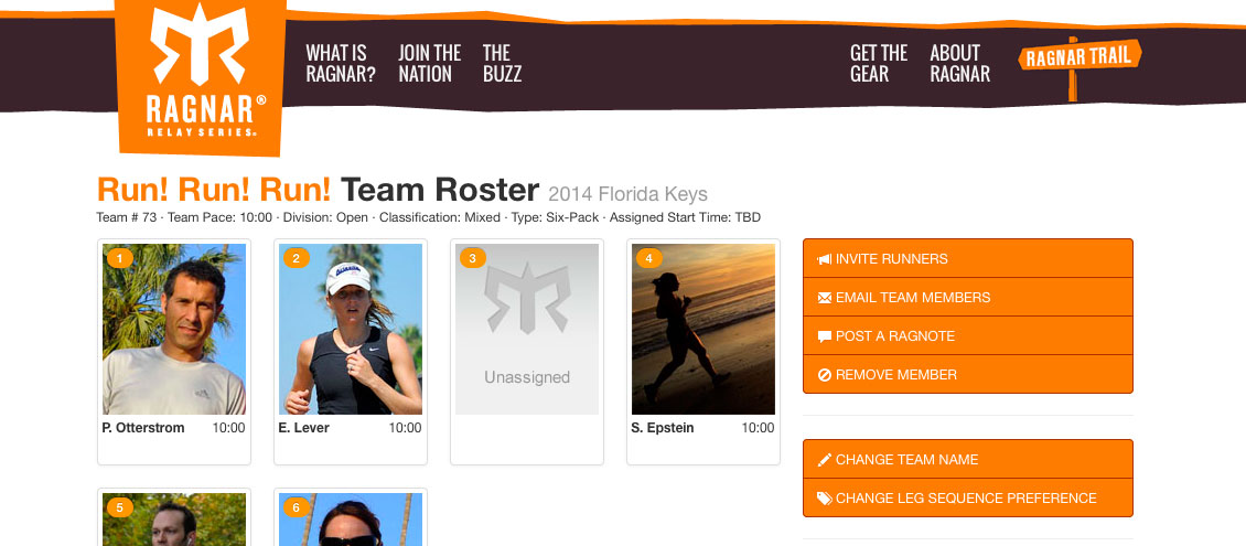 Ragnar Team Profile